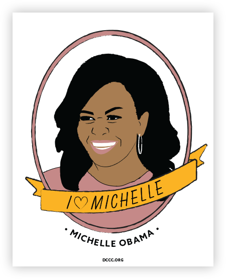 Dccc Donate Via Actblue Michelle Obama I Have A Dream Speech How To Memorize Things