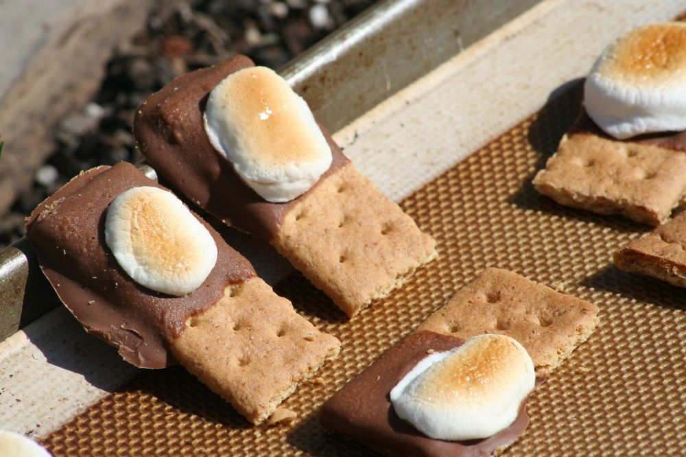 toddler friendly s'mores