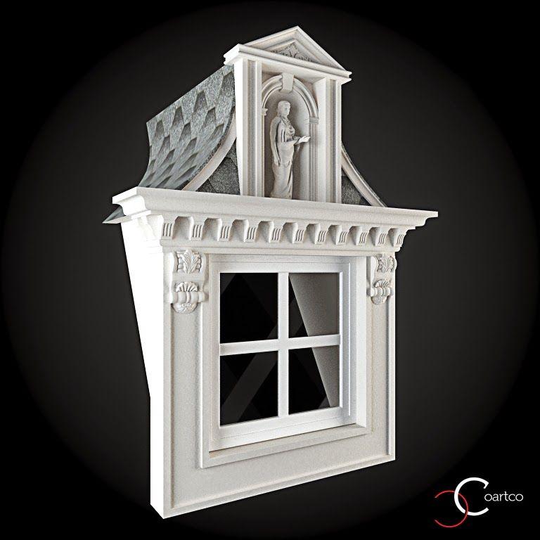 Ornamente Decorative Exterior Ferestre Cod: WIN-093 In