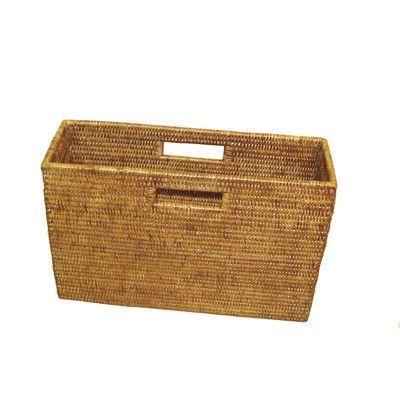 Schrader Magazine Basket Decorative Boxes Magazine