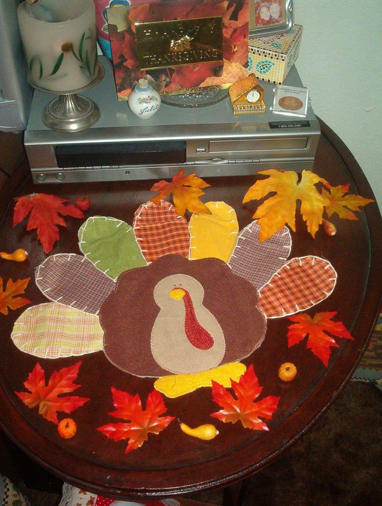 Bon Thanksgiving+decorations | ... Thanksgiving Table Decoration   Decorating A  Table For Thanksgiving