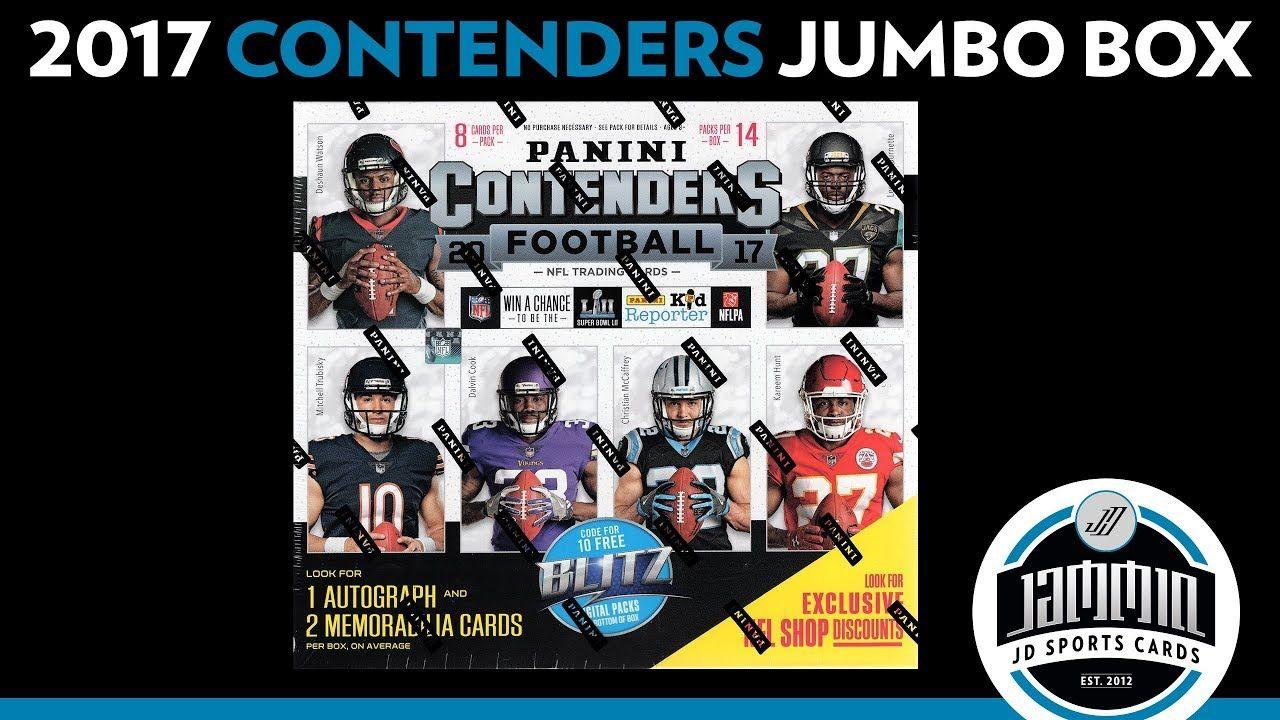 2017 panini contenders football premium retail box break