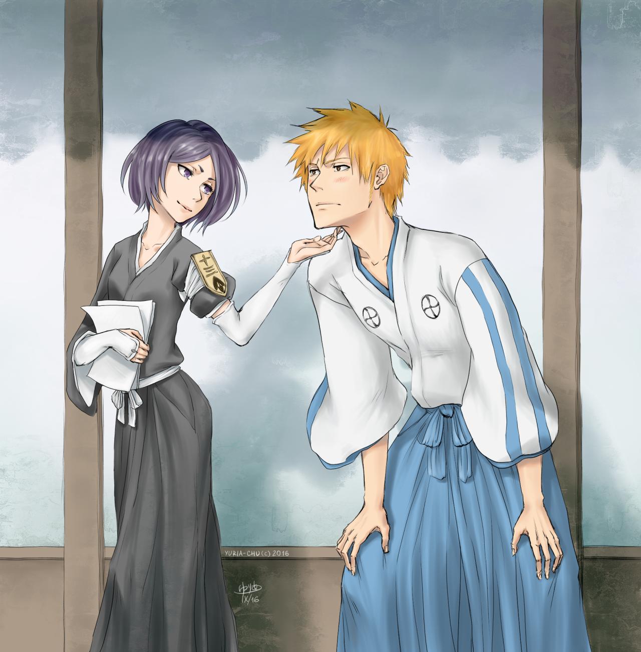 Yuria Sama Ichigo Kurosaki 20 Years Old Hair Color Orange Eye Color Brown Occupation Shin ō Academy Stude Bleach Anime Ichigo And Rukia Bleach Rukia