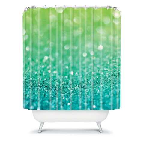 Lisa Argyropoulos Sea Breeze Shower Curtain Products, Showers and