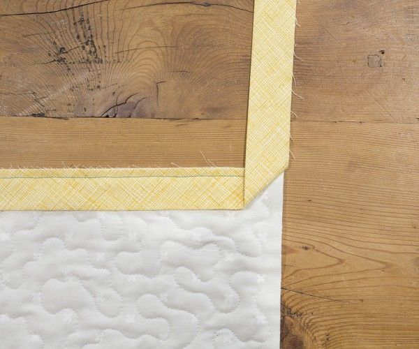 How To Bind A Quilt Using Double Fold Binding