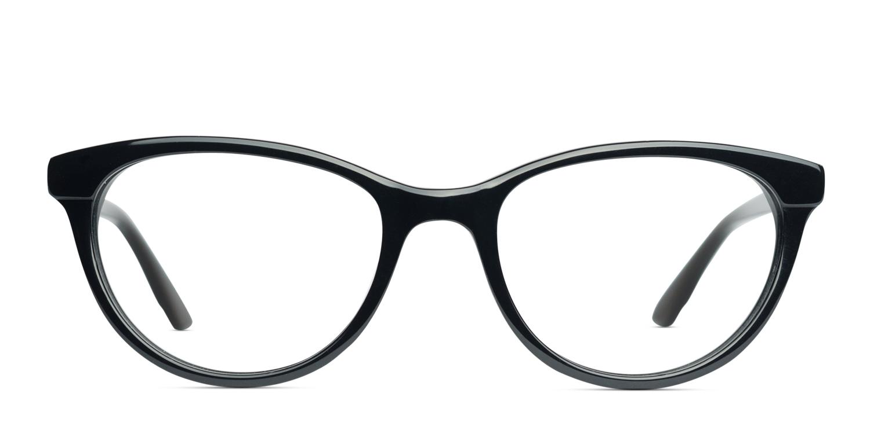 fe904403bc3 Zenni Rectangle Prescription Eyeglasses Black Tortoiseshell Ultem 7807621  in 2019