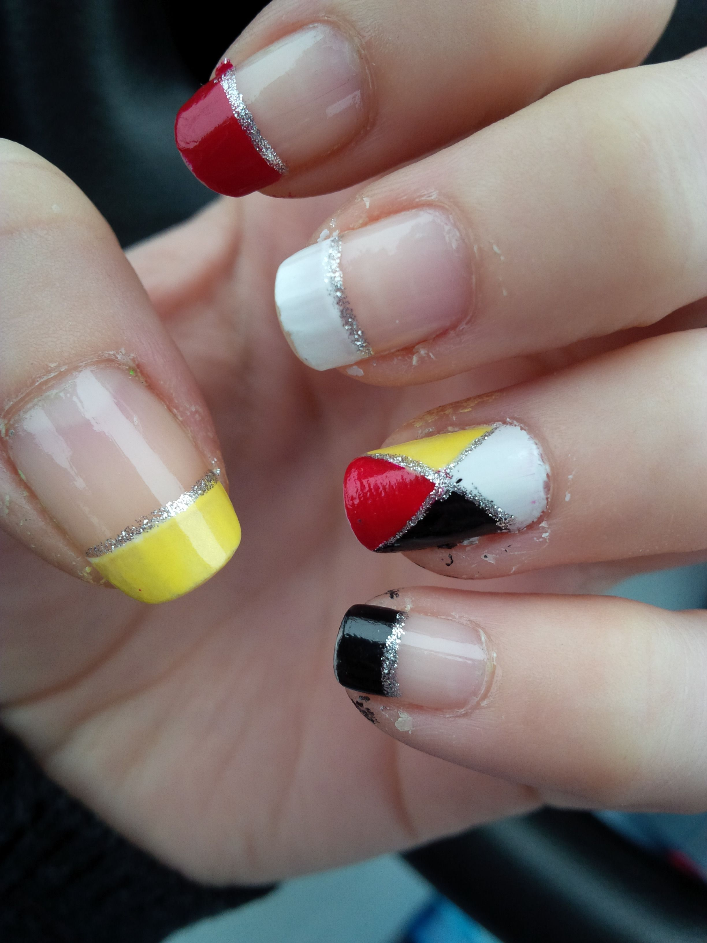 Medicine Wheel Nails Native Nails Nail Art Feather Nail