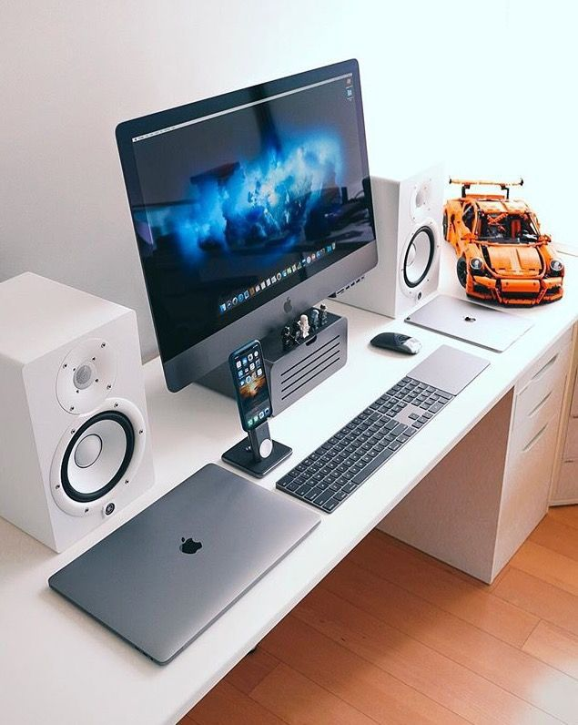 10 DIY Computer Desk Ideas for Home Office #computer