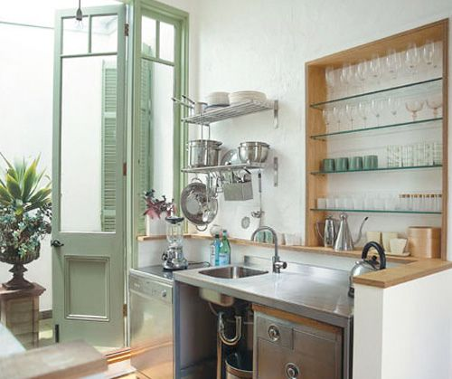 the open and airness of this kitchen is through the predominant - udden küche ikea