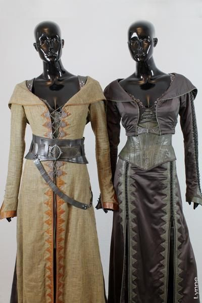 Legend of The Seeker (TV) (2008) costumes wardrobe Kahlan Season 1 Travel Complete Hero Costume