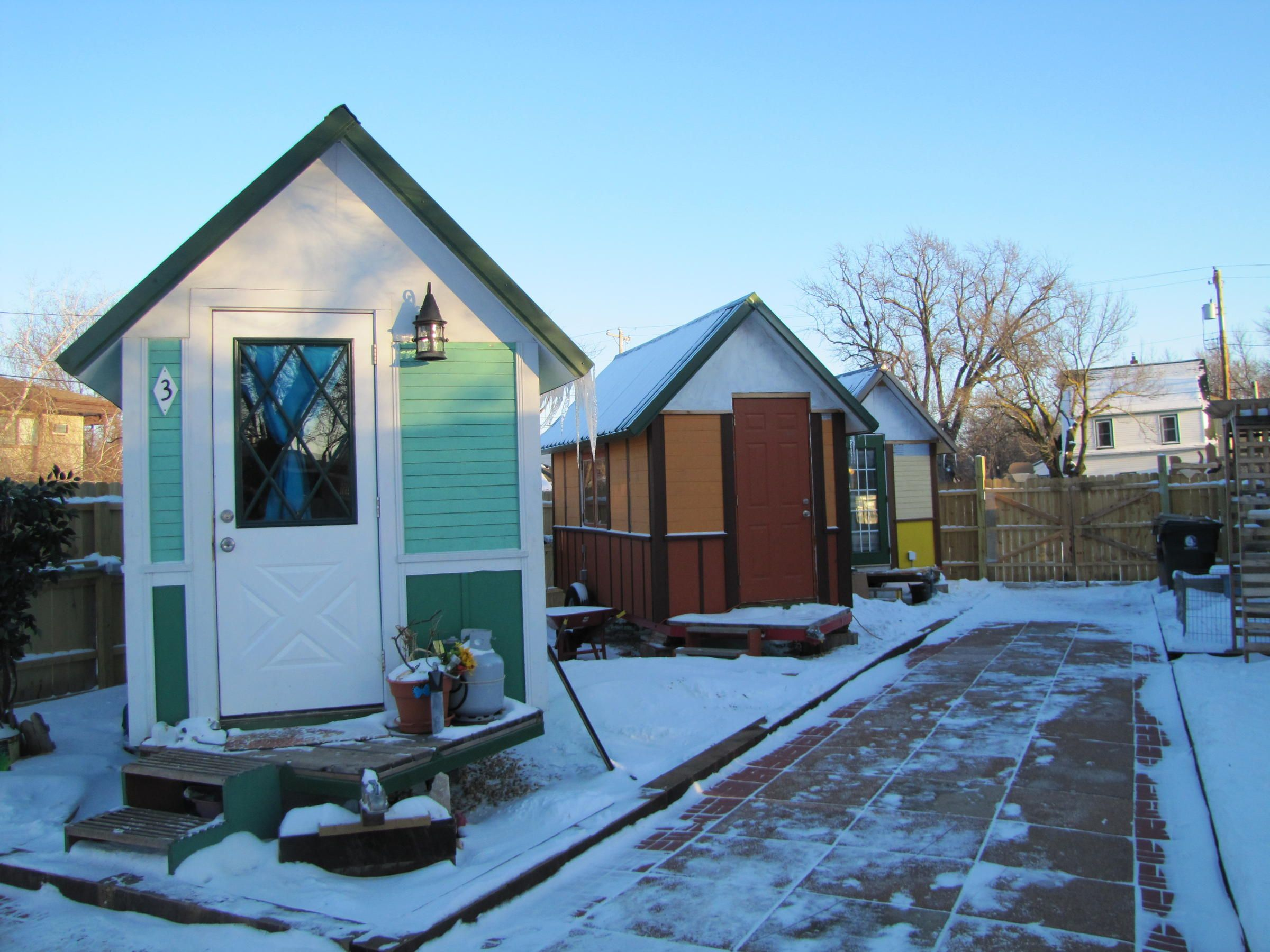 What Madison S Tiny House Community For The Homeless Looks Like Tiny House Community Tiny House Appliances Tiny Home Cost