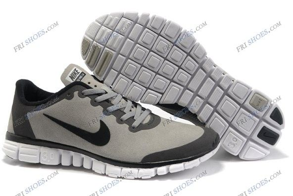 Nike Free 3.0 V2 Grey Black Mens sport running shoes nike shoes india  Regular Price: $148.00 Special Price $75.89 Free Shipping with DHL or  EMS(about 5-9 ...