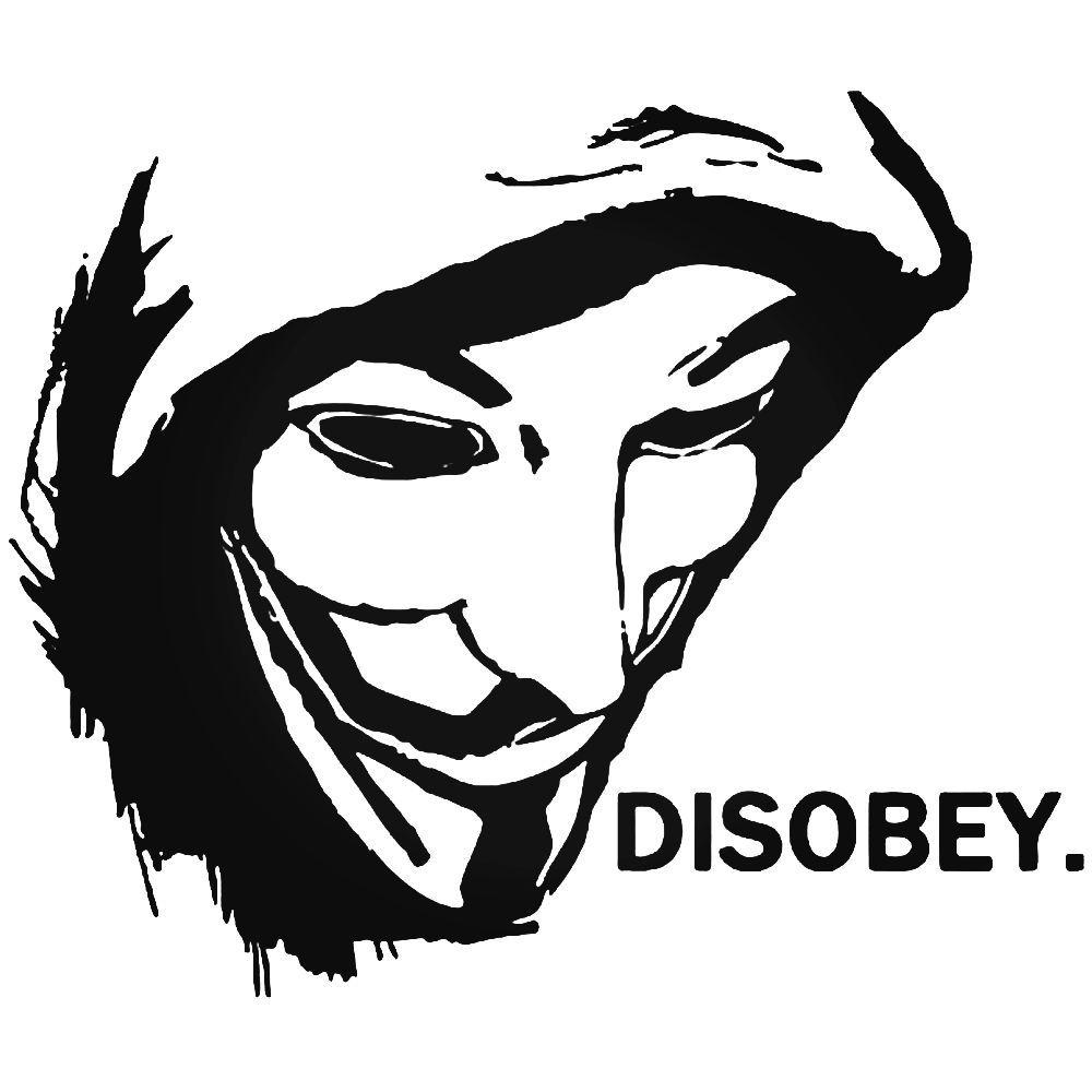 Anonymous Occupy America Guy Fawkes Sticker Ballzbeatz Com