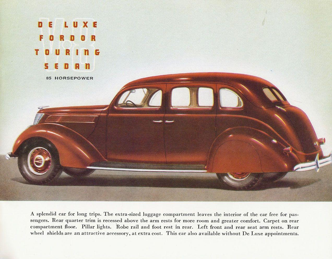 N 1937 Ford Full Line 07 Jpg Advertising Poster Automobile Advertising Touring