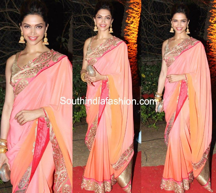 Deepika Padukone at Ahana Deol's Wedding Reception ...