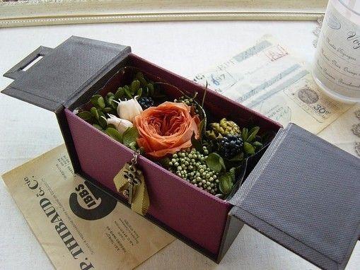 flowers in box