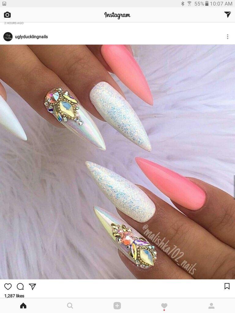 Pin by Chonsuda Thao on NAILS   Pinterest   Makeup, Nail nail and ...
