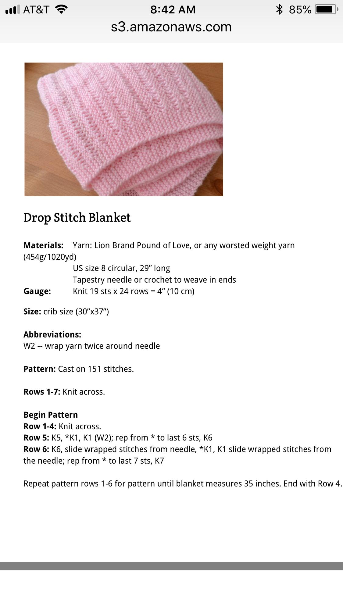 Drop stitch blanket | baby ideas | Pinterest | Cobija, Colchas ...
