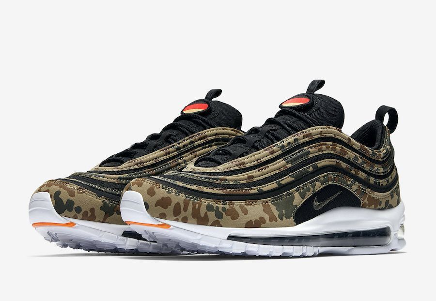 Official Images Of The Nike Air Max 97 Country Camo Germany Nike Air Max Nike Air Air Max 97