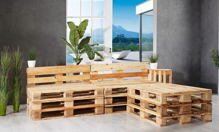 Palettenmöbel Selber Bauen Einrichtung Lounge