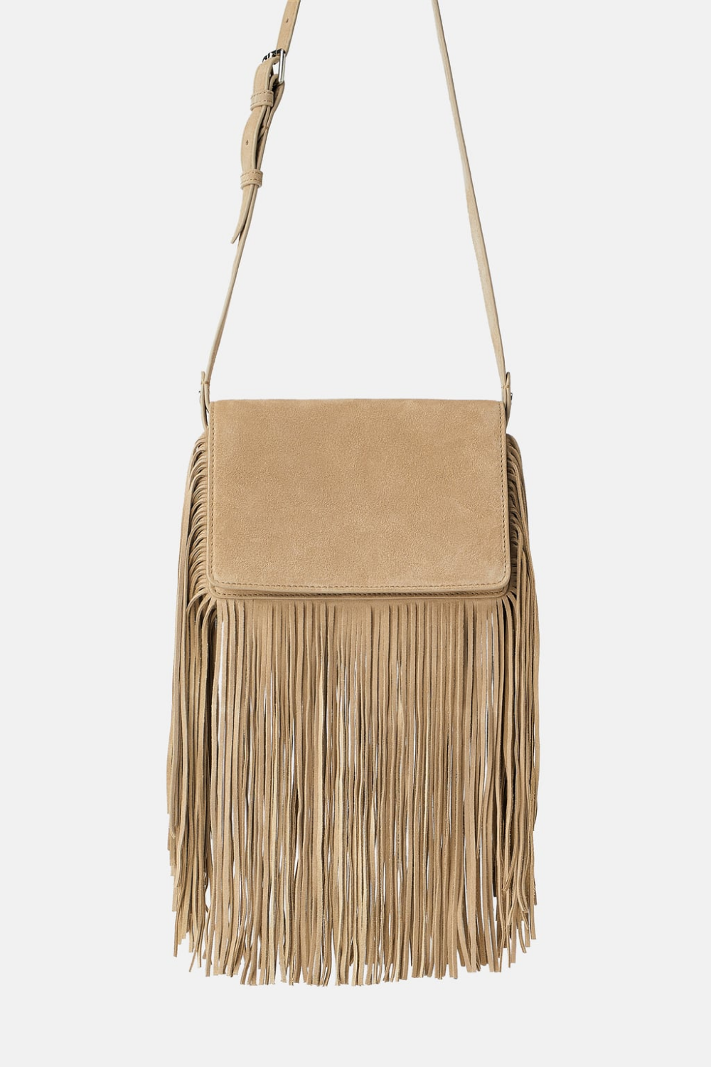 Split Leather Fringed Crossbody Bag Bags Woman New Collection Zara United States Leather Fringe Fringe Crossbody Bag Fringe Crossbody