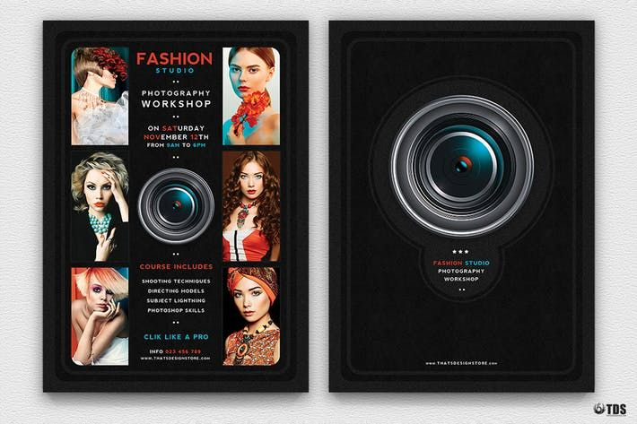 Photography Workshop Flyer Template #photographer #classes - workshop flyer template