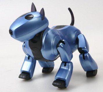 Amazon com: Genibo QD Robot Dog - Blue / Violet: Everything Else