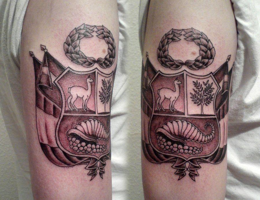 Escudo del per tattoo pinterest tattoo tatto and for Peruvian tattoos designs