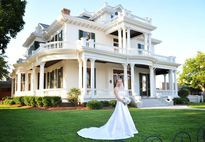 The Redding House In Biloxi Is A Beautiful Venue For Southern Style Wedding On