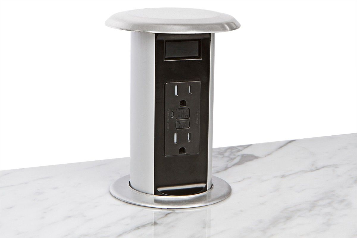 Pop Up Kitchen Power™ Unit Includes Tamper Resistant GFCI Outlets And A  Hardwire Connection, Plus A Water Tight Seal To Prevent Liquids From  Getting Inside ...
