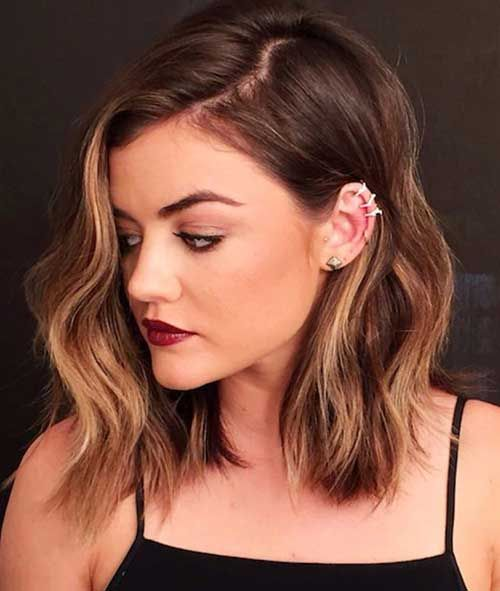 Lucy Hale S Hair Color