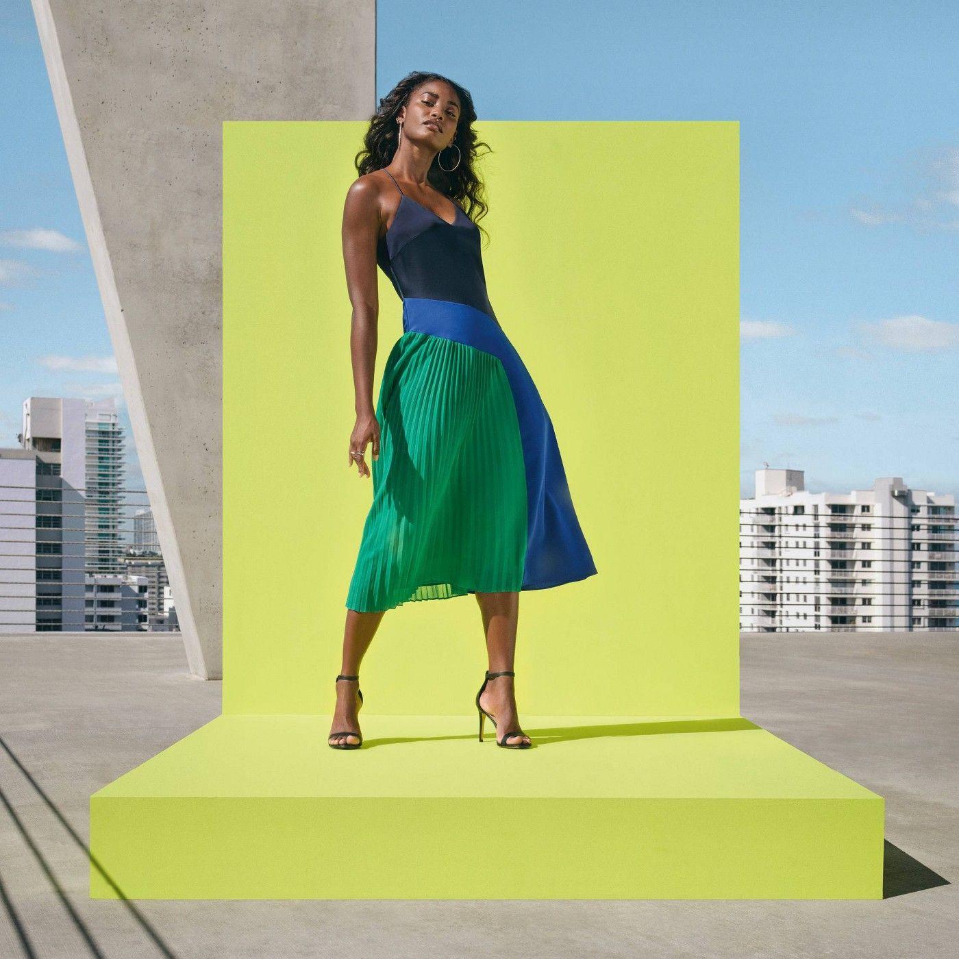 Women S Pleated Dress Cushnie For Target Regular Plus Blue Green Sponsored Dress Sponsored Cushnie Women Dresses Dress Collection Pleated Dress [ 1400 x 1400 Pixel ]