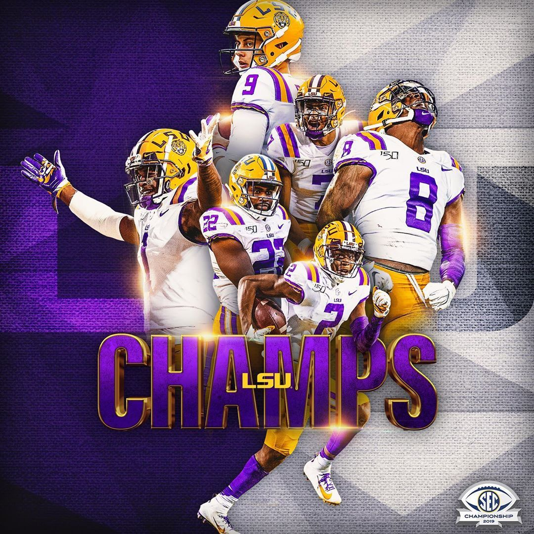 18 1k Likes 290 Comments Southeastern Conference Sec On Instagram For The First Time Si Lsu Tigers Football Lsu Tigers Football Wallpaper Lsu Football