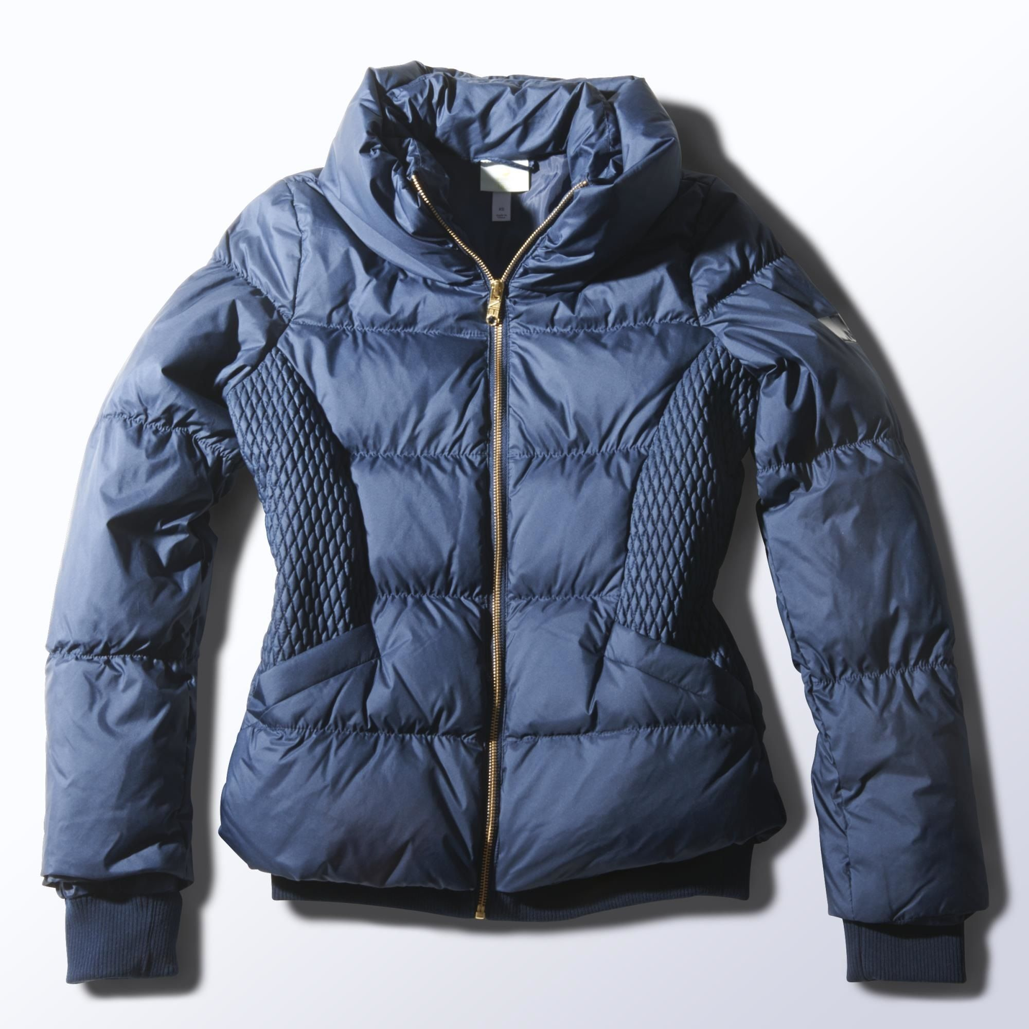 Adidas Neo   Down Jacket    130   A winter jacket with a girly shape. Down  fill (70 30) and a pillow collar make this girls  jacket cosy. 698f447d11e
