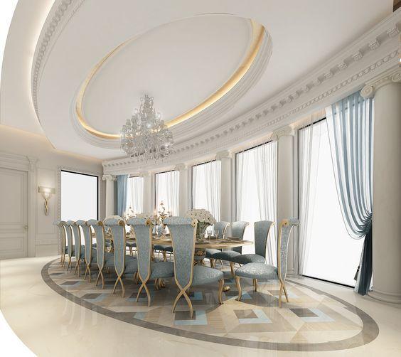 Luxury Interior Design Dubai Ions One The Leading Interior Design Companies In Dubai Provides Home Design Commer Dizajn Stolovoj Tradicionnye Doma Dizajn
