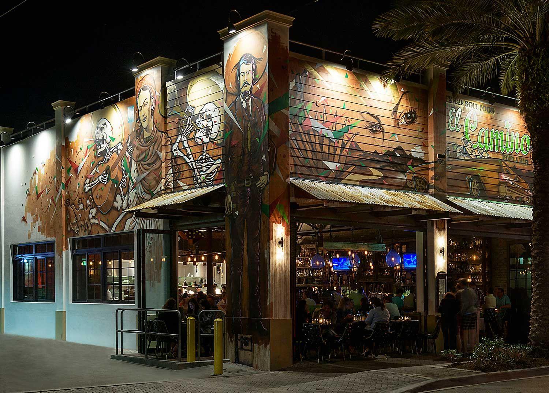 Gallery El Camino Delray Mexican Soul Food Tequila Bar Delray Beach Delray Beach Delray Beach Art Gallery