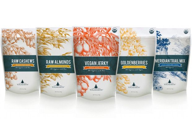 Superfoods Sampler from Yoga Earth! Healthy snacking!