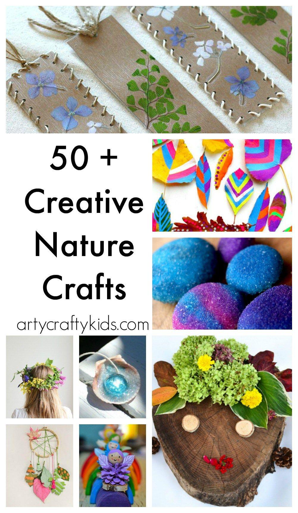 50 Nature Crafts For Kids Art Ed Pinterest Kids Nature Crafts