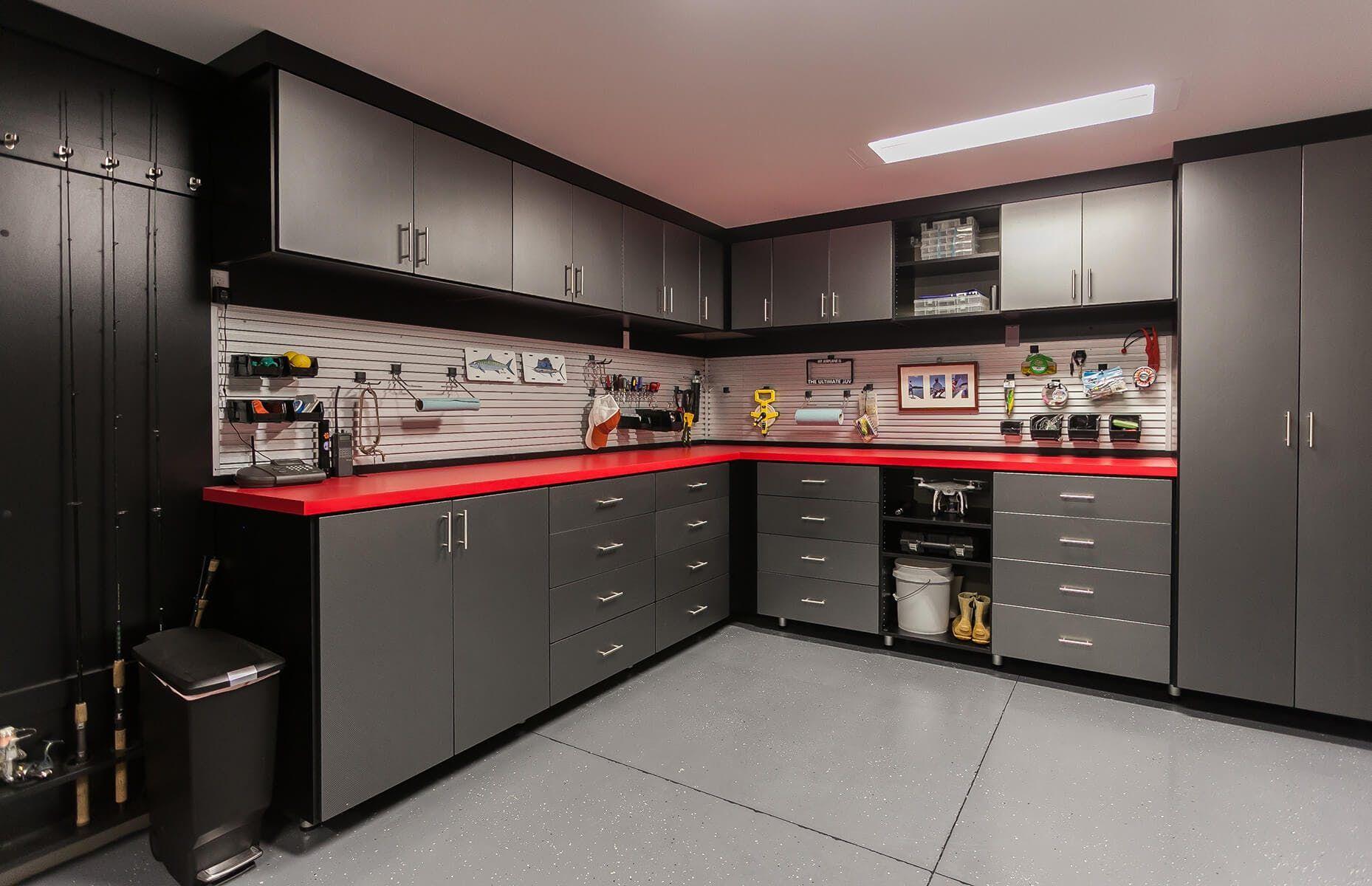 Fort Lauderdale, FL | Garage interior, Garage storage ...