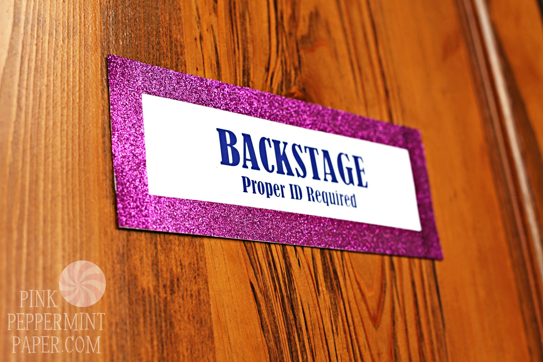 Signage by Pink Peppermint Paper, LLC.   Ava\'s 5th Birthday Party ...