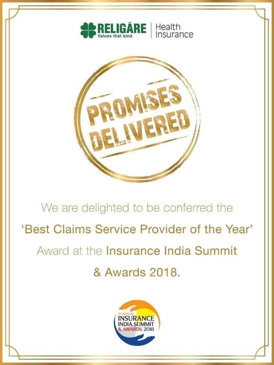 Best Service Provider Right At Religare Care Health Insurance