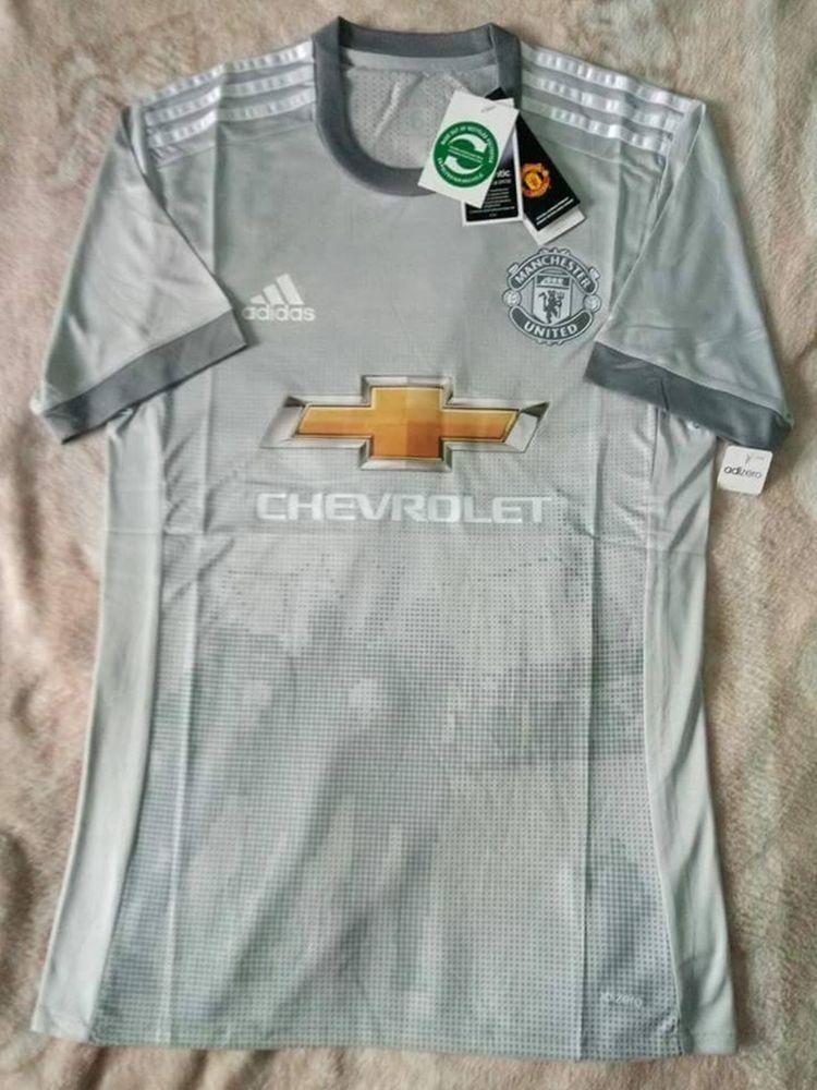 b8d542a4c13 Manchester United Aizero Away Authentic Jersey Football Shirt Sport 2017 18  FIFA  adidas  ManchesterUnited