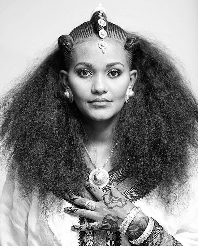 Traditional Bridal Hair And Jewellery From Ethiopia -3648