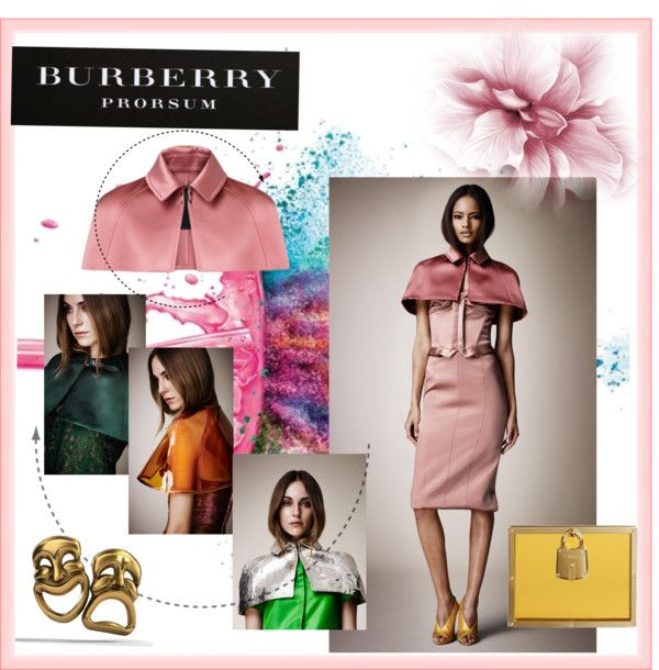 """""""Burberry SS13 Reveal"""" by teffy-venegas on Polyvore"""