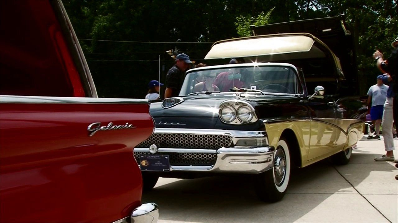 New Hope Car Show in New Hope PA. This is a great video from the 2013 show featuring a friend's 1958 Ford Retractable. It was the featured car that year at the show!