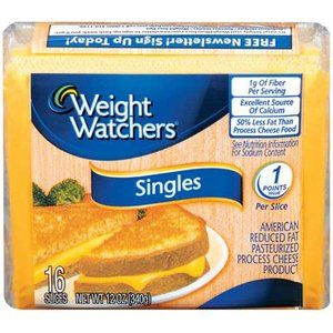 Weight Watchers Singles American Cheese, 16ct