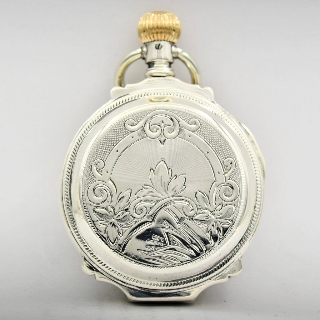 6b87be82a ELGIN Silver Pocket Watch Pocket Watches - Ashton-Blakey Vintage Watches
