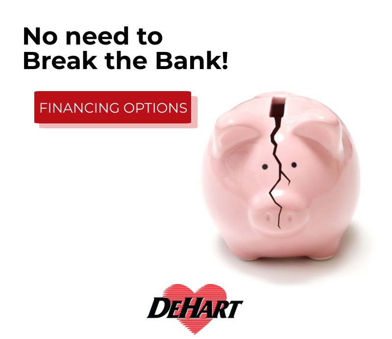 With DeHart, there's no need to break the bank! 🐷 We work