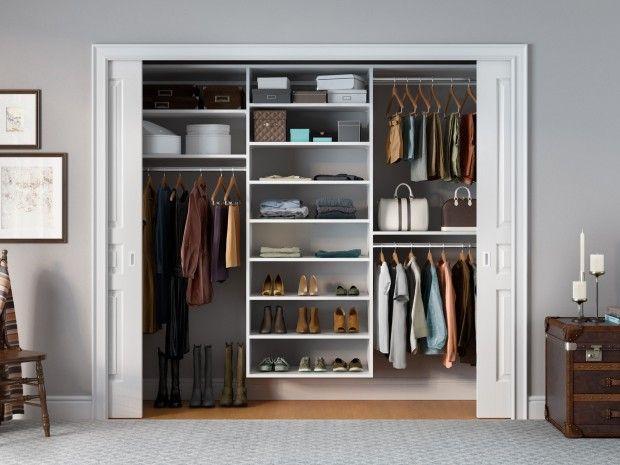 Reach In Closets Designs Ideas By California