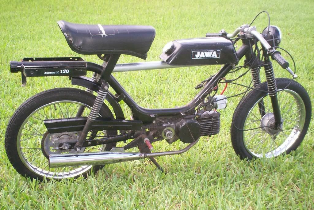 jawa moped cafe racer conversion. | bikes | pinterest | mopeds